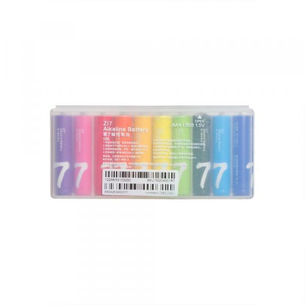 Батарейки Xiaomi Rainbow Zi7 Alkaline 1.5V-S2 / LR03 (10 шт.)