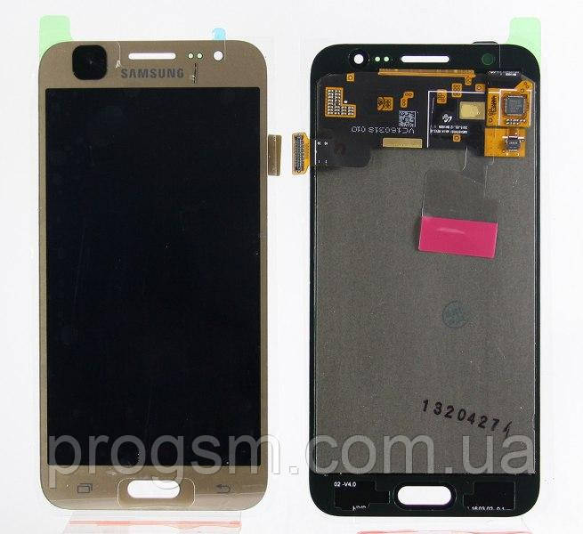 Дисплей Samsung Galaxy J5 SM-J500F complete with backlight Gold
