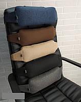 Подушка-валик EKKOSEAT на офисные и авто кресла. Ортопедическая. Универсальная.