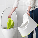 Горшок детский IKEA LOCKIG зеленый белый 601.931.28, фото 2