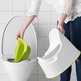 Горщик дитячий IKEA LOCKIG зелений білий 601.931.28, фото 5