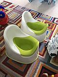 Горшок детский IKEA LOCKIG зеленый белый 601.931.28, фото 3