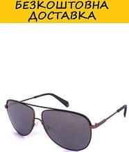 Очки мужские с поляризационными ультралегкими зеркальными линзами POLAROID P2054S-21060LM