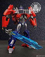 Робот-трансформер игрушка для мальчика Оптимус Прайм, Трансформеры Прайм, 16 см Apc Toys, Optimus Prime, Tfp