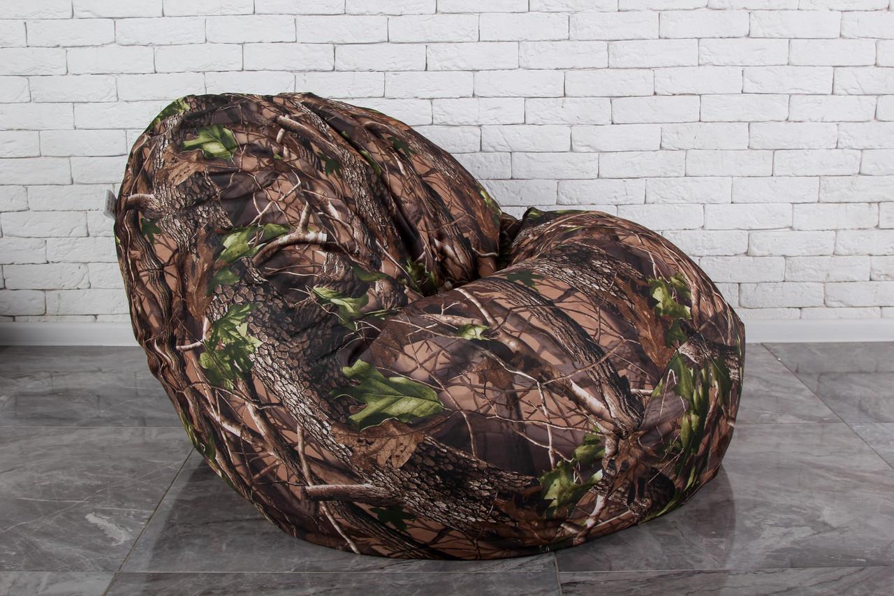 Кресло мешок груша Бескаркасное Камуфляжное XXL 130х160