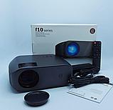 Проектор F10 UTM WIFI 1280х800 Black, фото 4