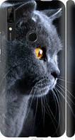 "Чехол на Huawei P Smart Z Красивый кот ""3038c-1704-39045"""