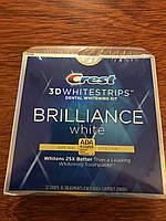 Отбеливающие полоски для зубов, Crest 3D Whitestrips Briliance 16 шт по две полоски в упаковке
