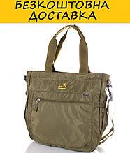 Мужская спортивная сумка через плечо ONEPOLAR W5239-green