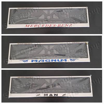 Рамка номерного знака из нержавеющего металла