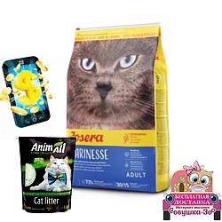 Корм Josera Marinesse для котів 10 кг силікалевий наповнювач АнімАлл  3.8 л кешбек та  доставка