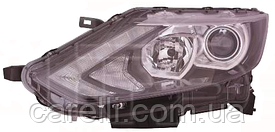 Фара левая электро  H7+H11+WY21W+LED для Nissan Qashqai 2014-17