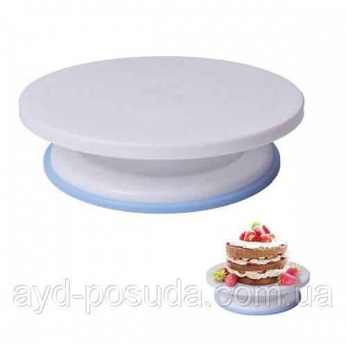 Подставка для торта с силиконовой вставкой арт. 870-27898