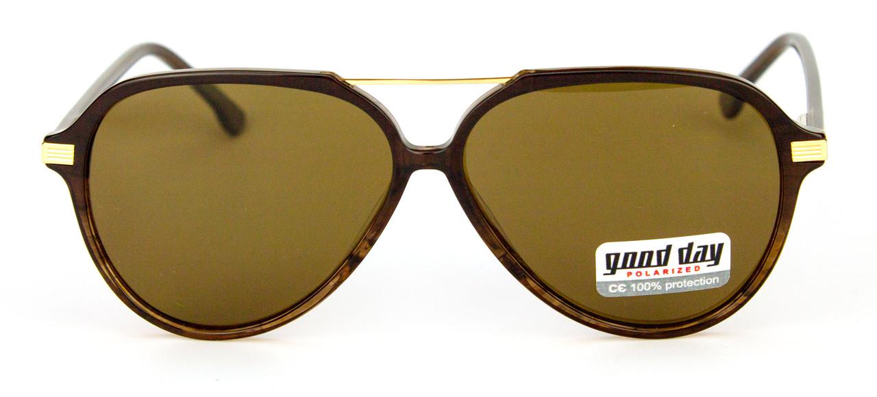 Коричневые солнцезащитные очки Good Day