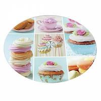 Стеклянная подставка для торта 25 см арт. 870-171125