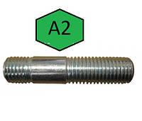Шпилька М36 DIN 938, ГОСТ 22032-76 з нержавійки, фото 1