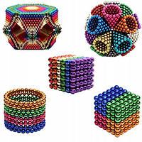 Нео Куб 5мм цветной, Магнитные шарики, Магнитный неокуб, Головоломка, фото 1