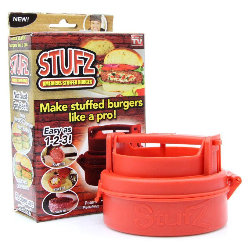 Ручная котлетница STUFZ SLIDERS для бургеров, Пресс для бургеров, Пресс форма для котлет с начинкой