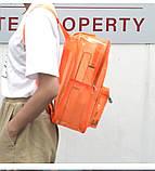 Женский большой прозрачный рюкзак черный, фото 4