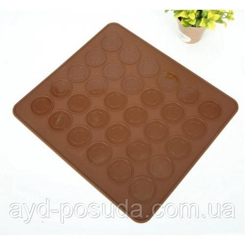 Силиконовый коврик для выпечки макаронс арт. 870-501062