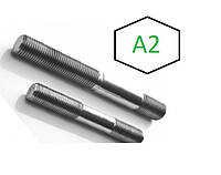 Шпилька DIN 939, А2, А4, фото 1