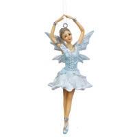"""Подвеска """"Балерина в голубом"""" (2007-015)"""
