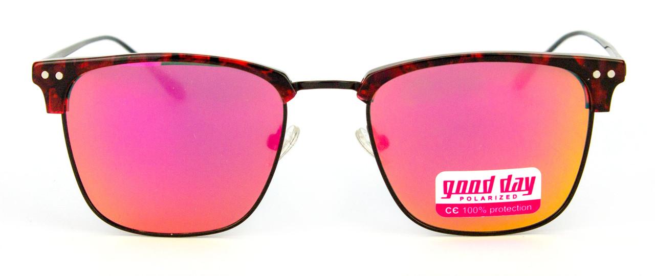 Солнцезащитные очки клабмастер цветные Good Day 5013 С3