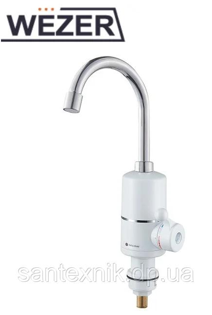 Кран водонагреватель 3Кв проточный Wezer SDR-A05