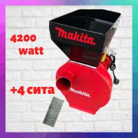 Зернодробилка Makita EFS 4200 Руминия, ДКУ крупорушка шредер ( млин дробилка кормоизмельчитель)