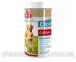 Витамины 8in1 Vitality Excel Calcium 155 т - Кальциевая добавка для собак, укрепление зубов и костей