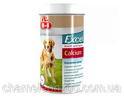 Витамины 8in1 Vitality Excel Calcium 880 т - Кальциевая добавка для собак, укрепление зубов и костей