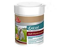 Вітаміни 8in1 Vitality Excel Multi Vitamin Small Breed 70 т - Мультивітамінний комплекс для собак дрібних порід