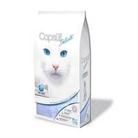 Кварцевый впитывающий наполнитель для туалетов кошек Capsull Delicate (baby powder) 1.5 кг.