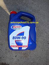 Масло в коробку передач Агринол, GL-4, минеральное, 80W-90, 4 л (производитель Агринол, Бердянск, Украина)