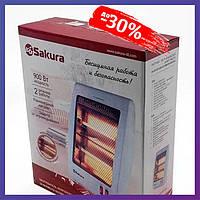 Электрический обогреватель инфракрасный Heater SA 0670 BG Quartz Sakura напольный экономный для дома квартиры