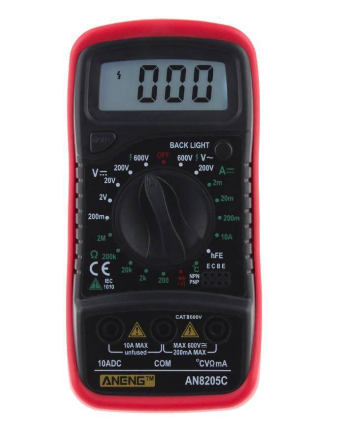 Цифровой мультиметр Aneng AN8205C