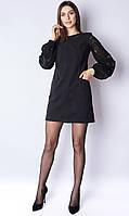 Женское замшевое платье Poliit 8797