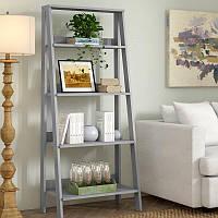 Книжный стеллаж лестница 140 см