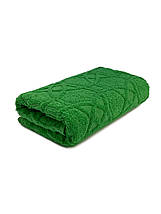 Полотенца для лица махровое Жаккард зеленое, фото 2