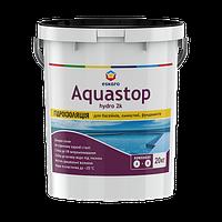 Eskaro Aquastop Hydro 2К Двухкомпонентная эластичная гидроизоляция для бассейнов, емкостей, фундаментов