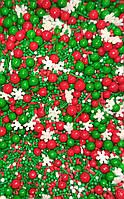 Посыпка  микс Рождественский  50 грамм