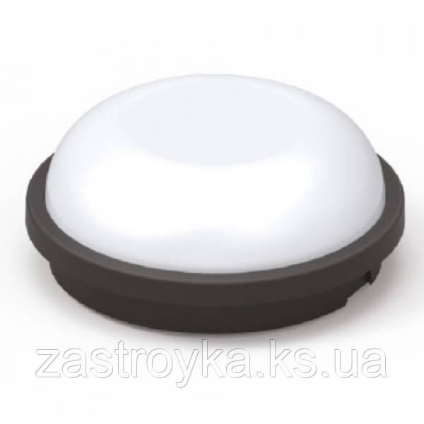 Світлодіодний світильник вологозахищений ARTOS-15 15W чорний 6400К