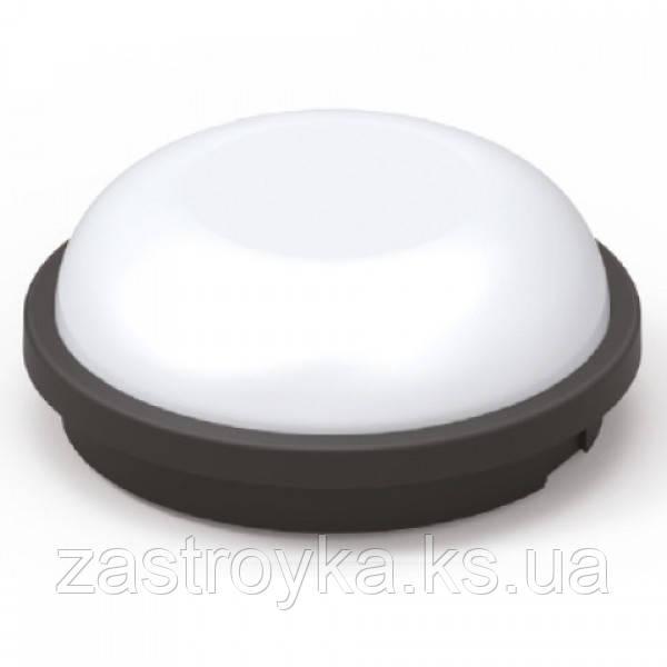 Светодиодный cветильник  влагозащищенный ARTOS-20 20W черный 6400К