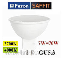 Светодиодная лампа Feron LB-196 7W G5.3 MR-16
