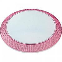 Світлодіодний світильник стельовий PHANTOM-36 рожевий