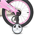 Велосипед детский LANQ Projective 14Д. розовый WLN1439D-T-2F, фото 5