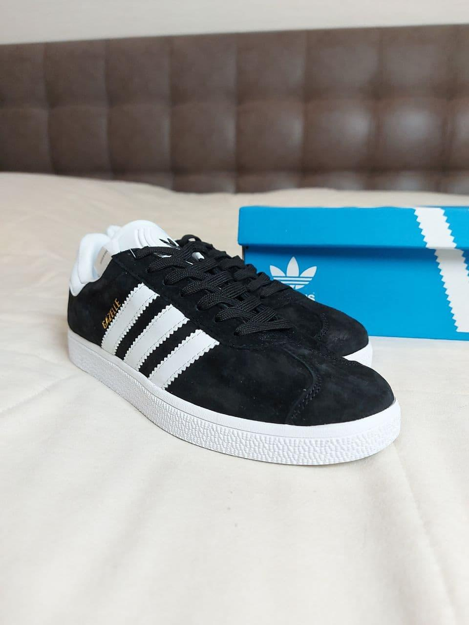 Adidas Gazelle black  адидас газели | кроссовки мужские кеды кеди