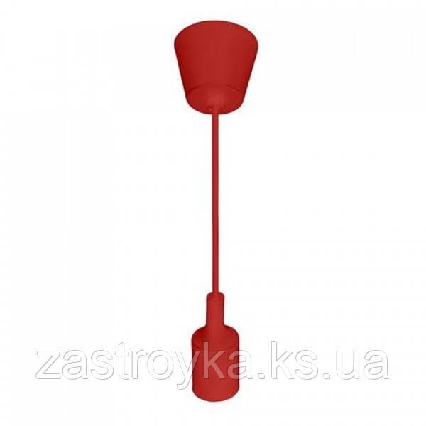 Світильник підвісний VOLTA Е27 червоний