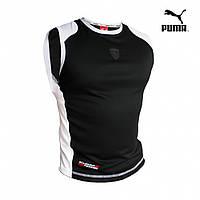 Футболка без рукавов Puma Ferrari черная