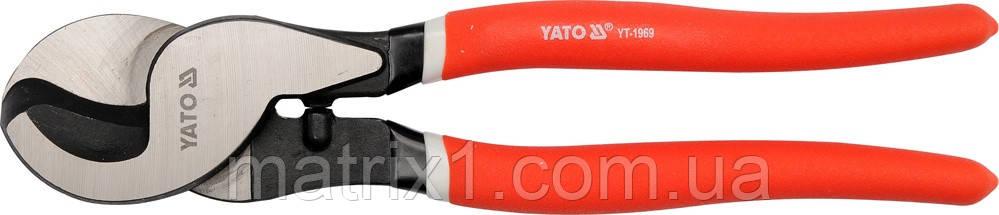 Кабелерез для алюминиевых и медных кабелей Ø9 мм YATO 240 мм  YT-1969